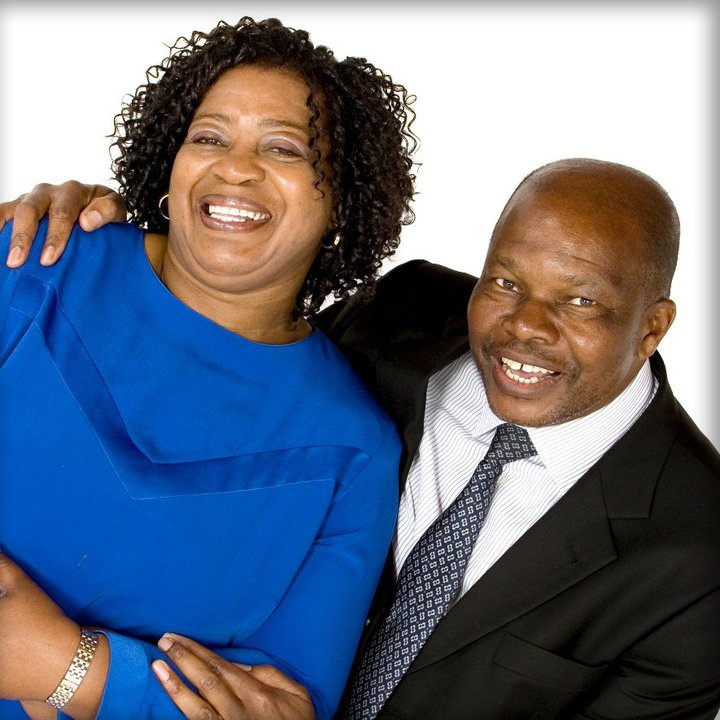 Dr Reuel and Mumsy Khoza, husband and wife team of more than 45 years